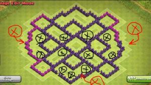 استراتژی حمله در بازی clash of clans