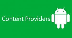 Content Providers در اندروید