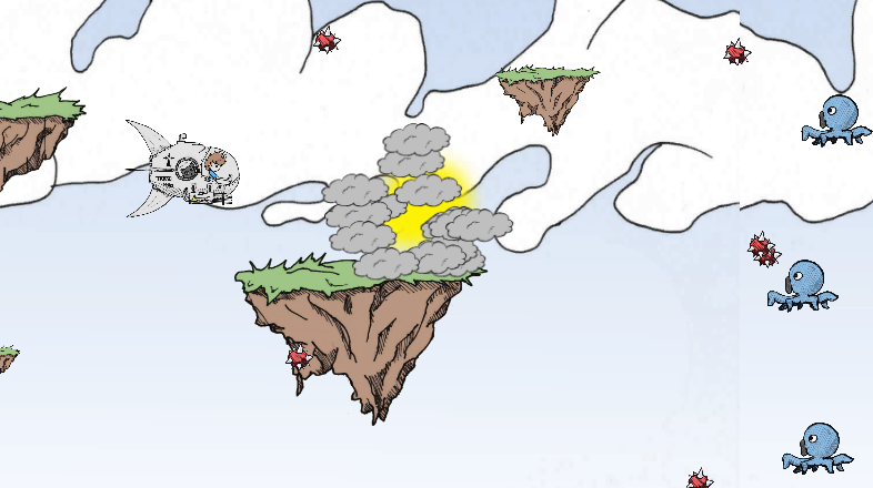 افکت انفجار در یونیتی
